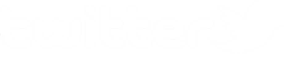 Long Twitter logo.