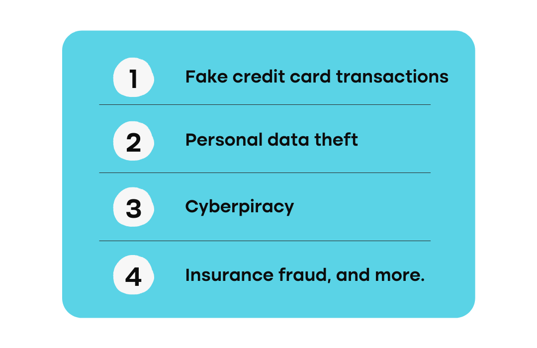 fraud types