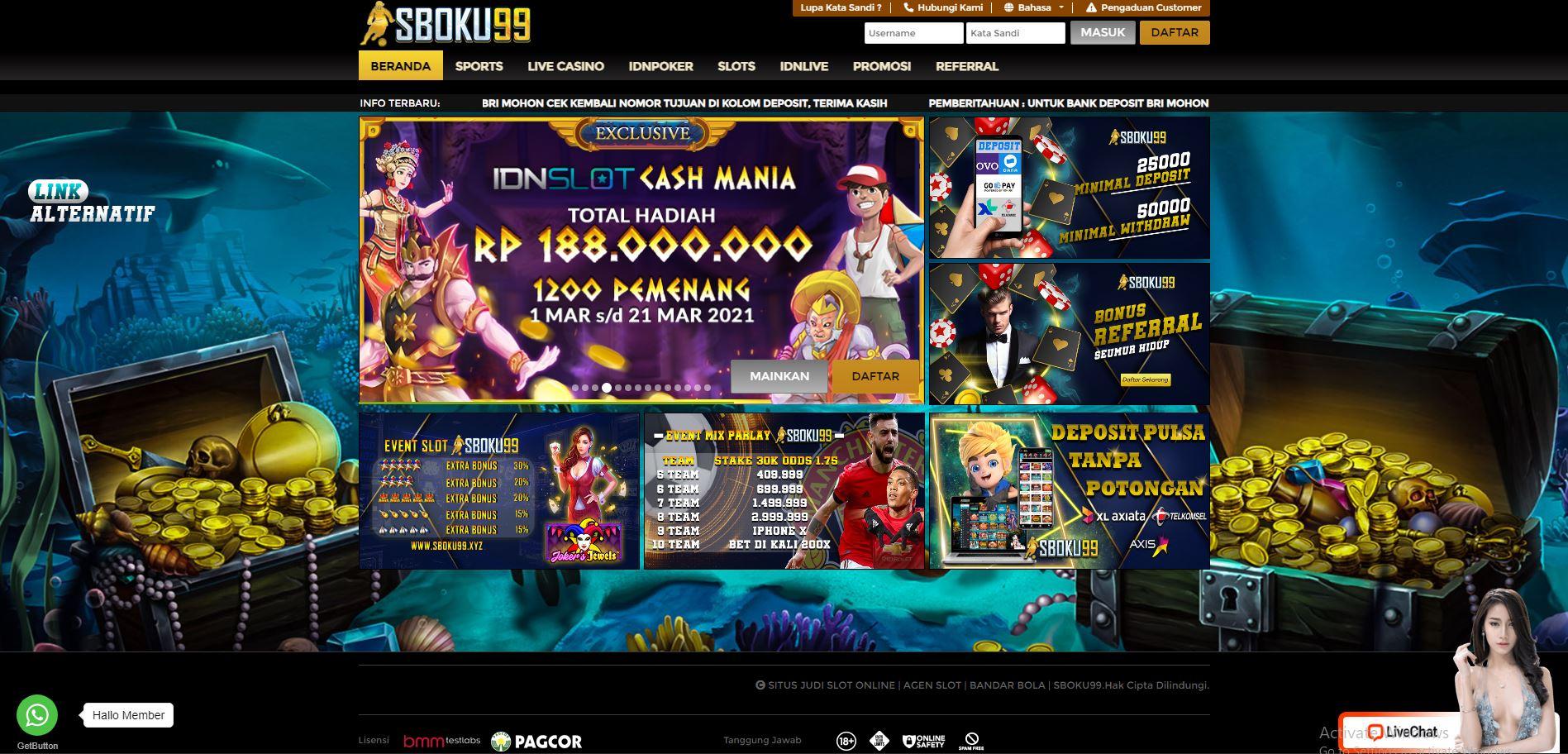 sbobet - sbobet 88 online indonesia sboku99