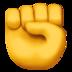 Fist emoji