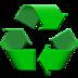 Recycle emoji