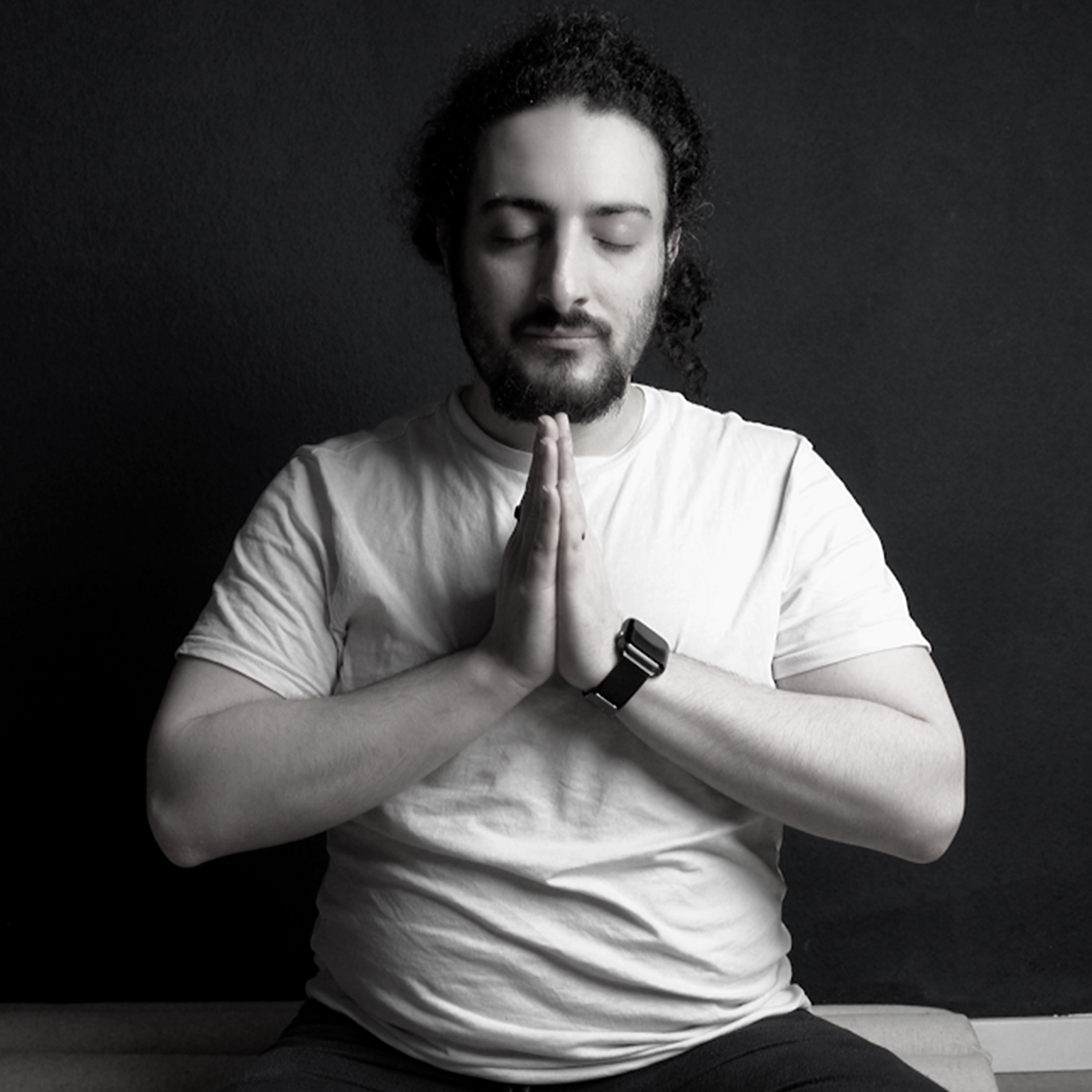 Picture of Raphael Meditating