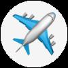 Plane emoji