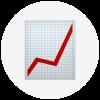 Chart going up emoji