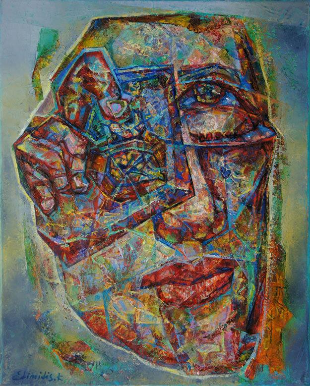 """Photographer"", Oil, Canvas, (50х40cm)"