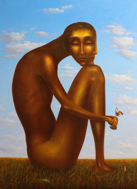 """""""Silence"""", Oil, Canvas, (150Х110cm)"""