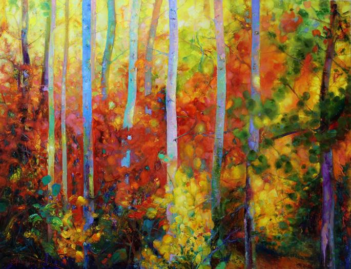 """Fall"", Oil, Canvas, (110х130cm)"