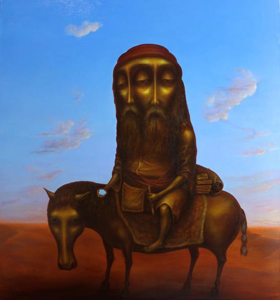 """""""Pilgrim"""", Oil, Canvas, (130х120cm)"""