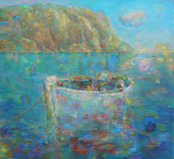 """""""Quiet joy"""", Oil, Canvas, (110х120cm)"""