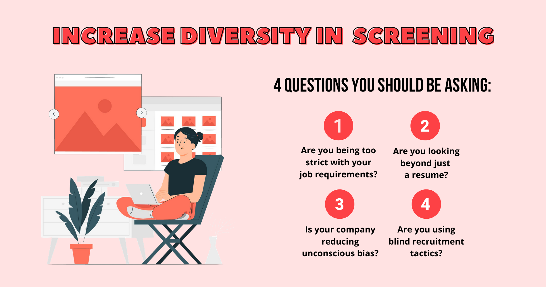 increase diversity in candidate scree...