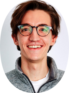 Profile picture of happy Canvas team member.