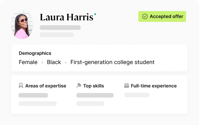 Canvas university solutions candidate profile