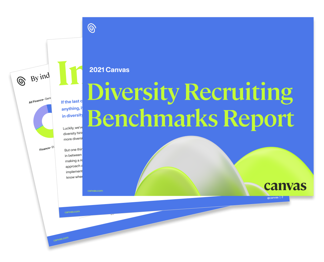 Diversity Recruiting Benchmarks Report