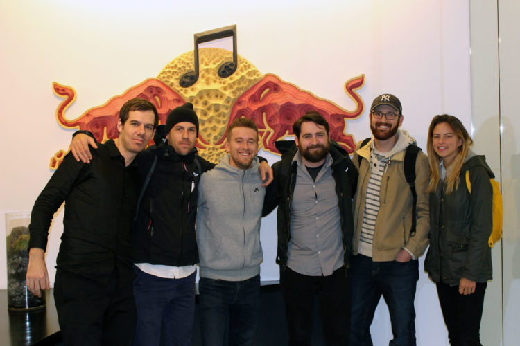 The Saent team (L-R), Tim, Russell, Kyle, Matt, Josh, Maggie