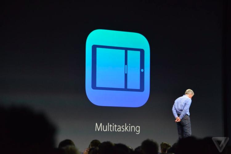 Apple announces split screen