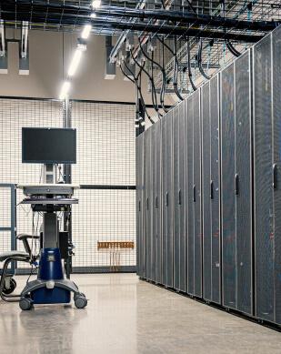 Pomieszczenie serwerowni