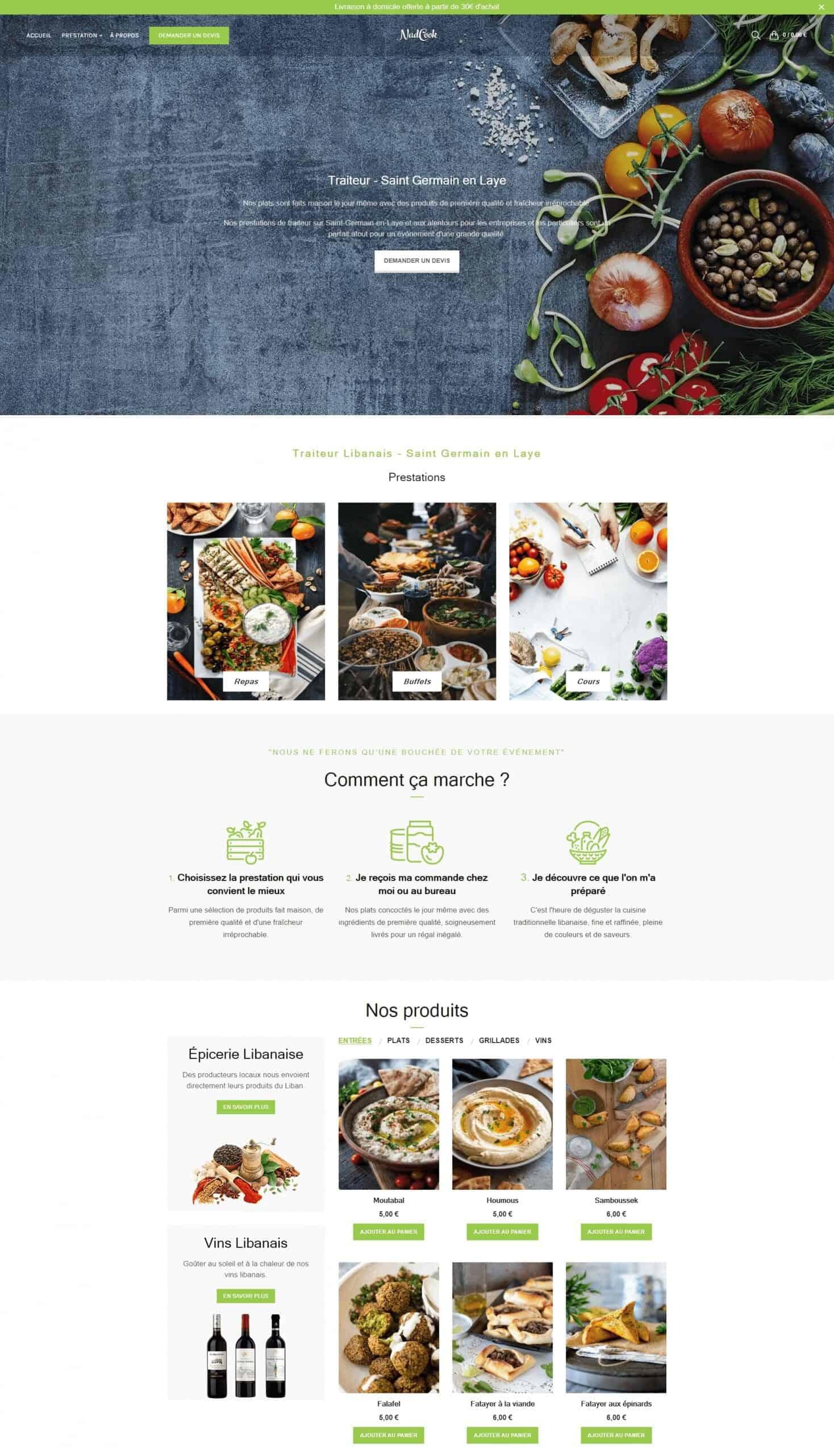 Creation boutique e-commerce