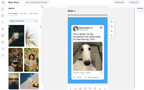 makestories web story tool