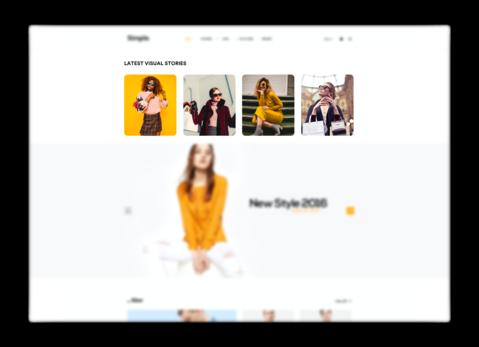 web stories widget