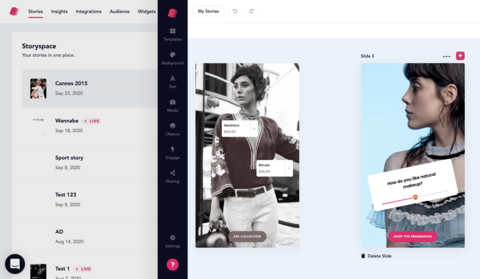storifyme web stories interface