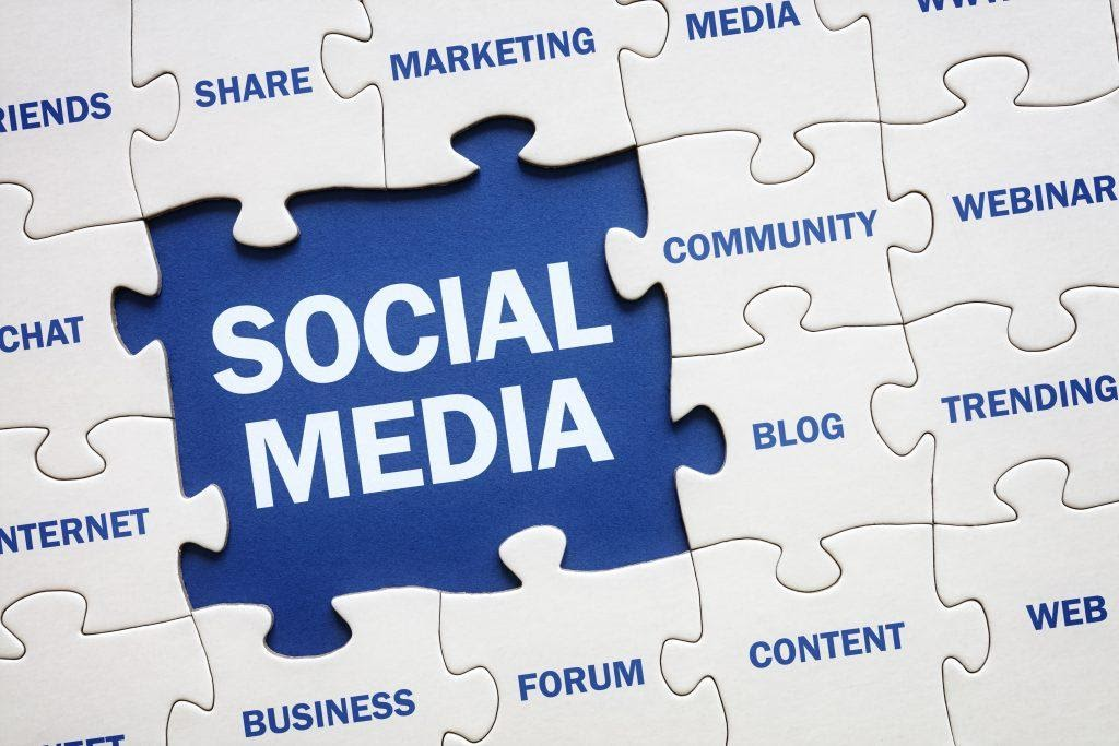 Visual representation of social media being a part of web stories and the future of marketing.