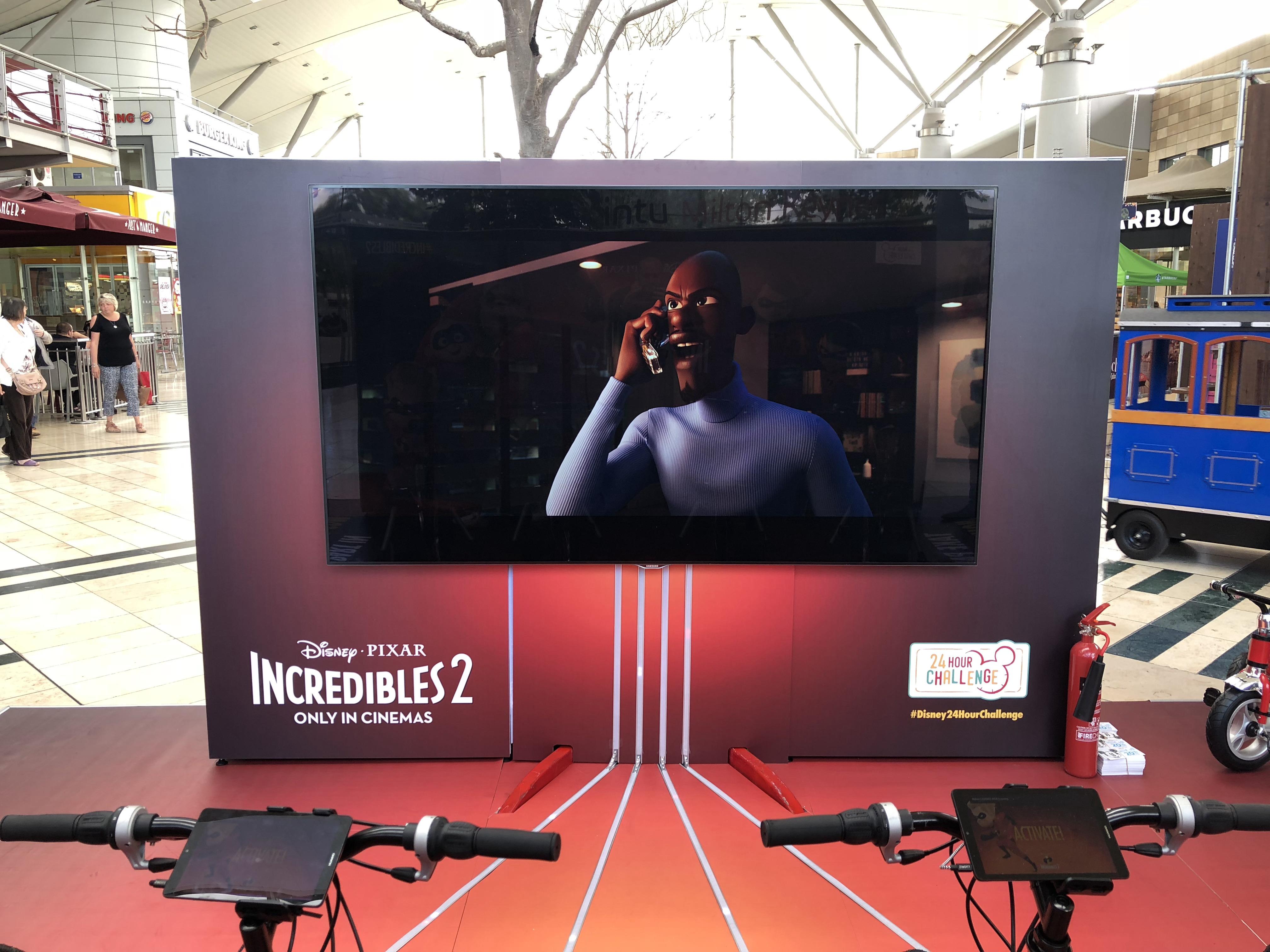 Disney Immersive VR Experience Setup