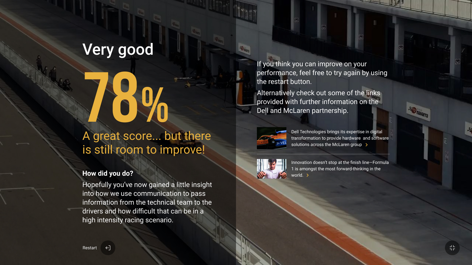 Percentage Game Score