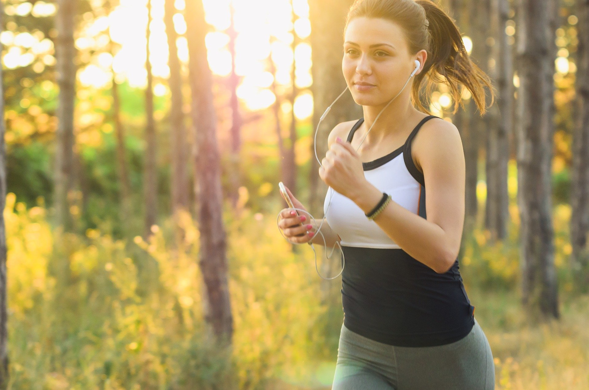 Exercise helps to control food thoughts.