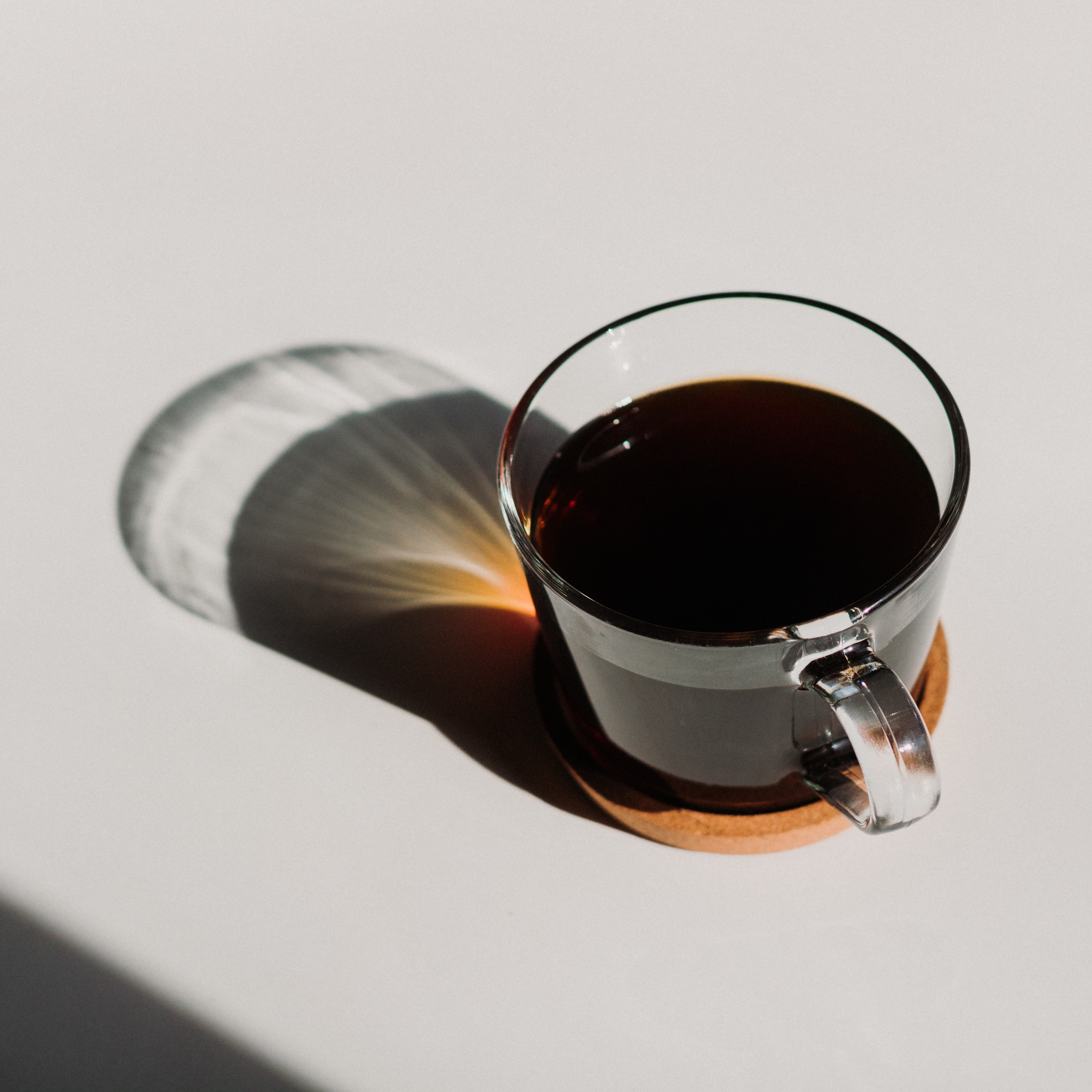 Black coffee for fasting window.
