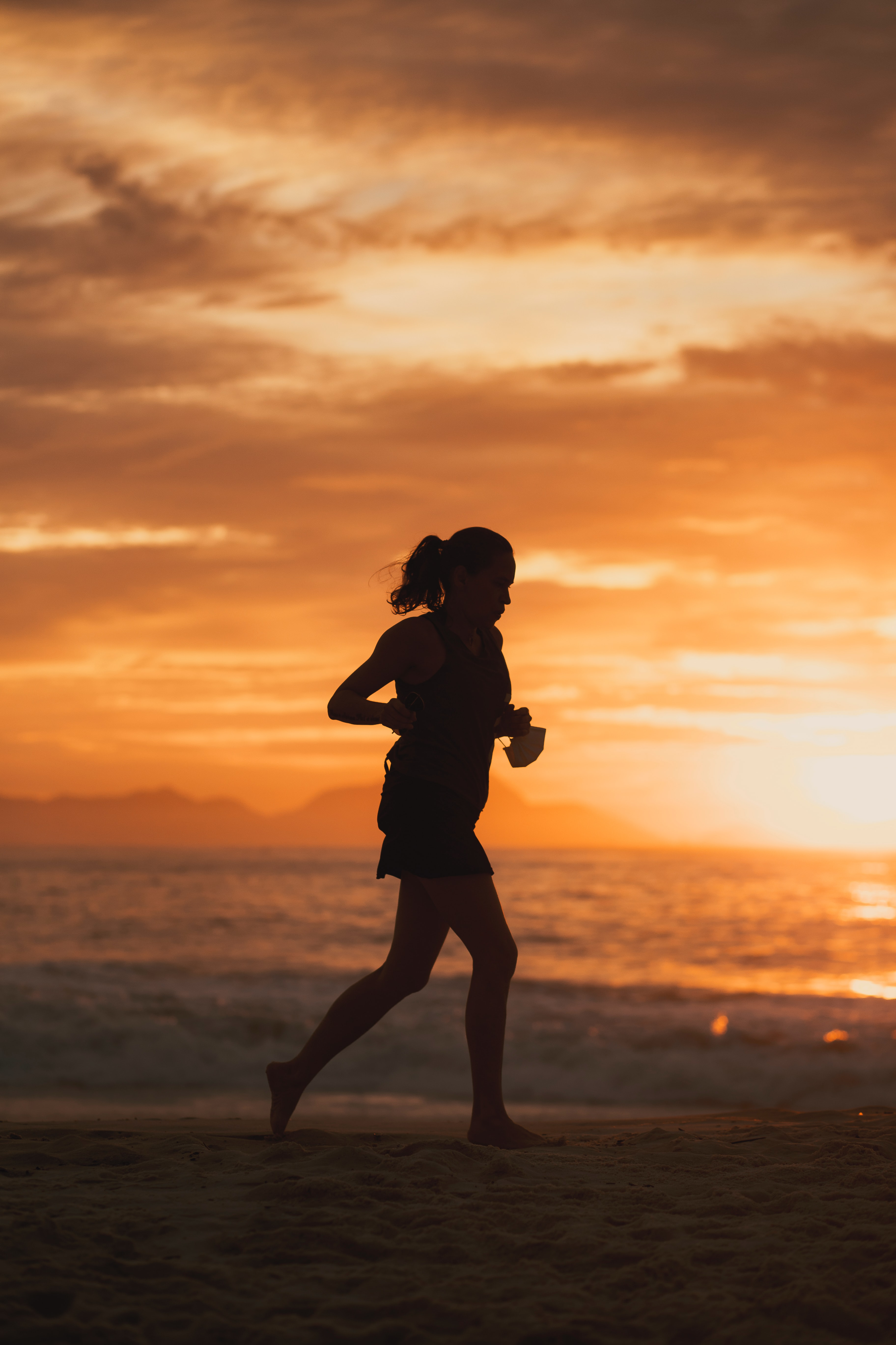 Benefits of running while fasting.
