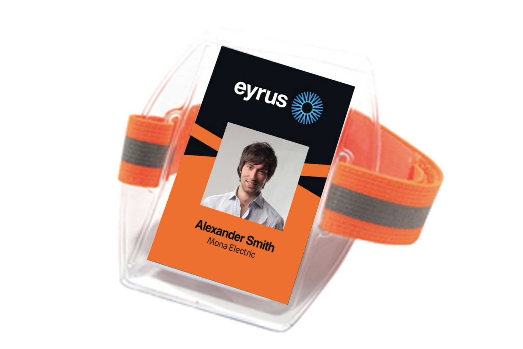 Near-Field Communication badge that can track users through a worksite