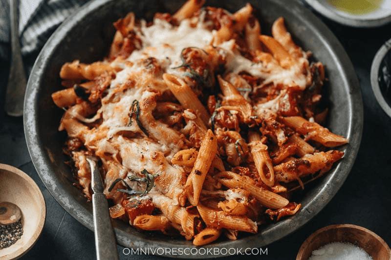 popular pasta dishes