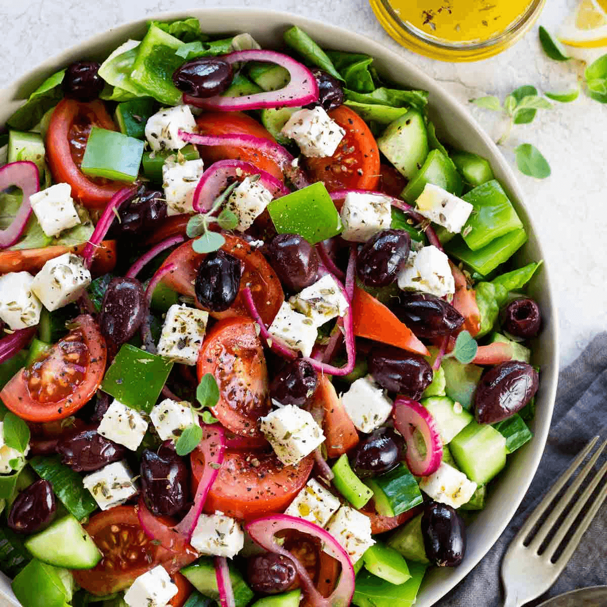 types of salads to make
