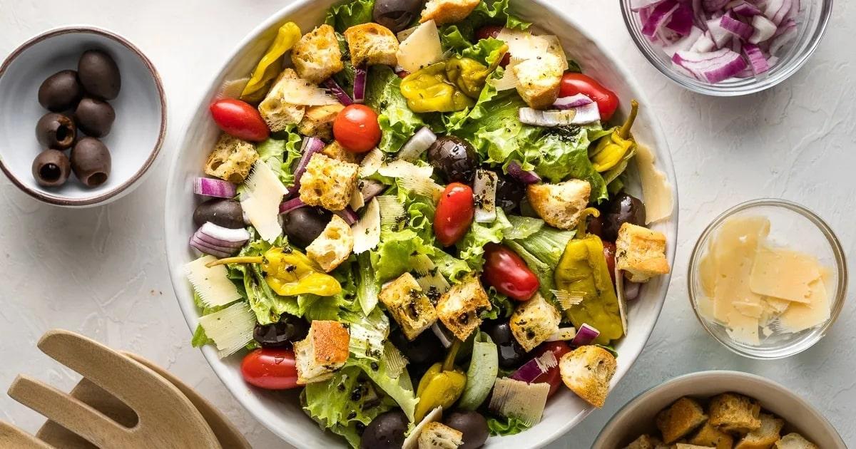 how to prepare italian salad