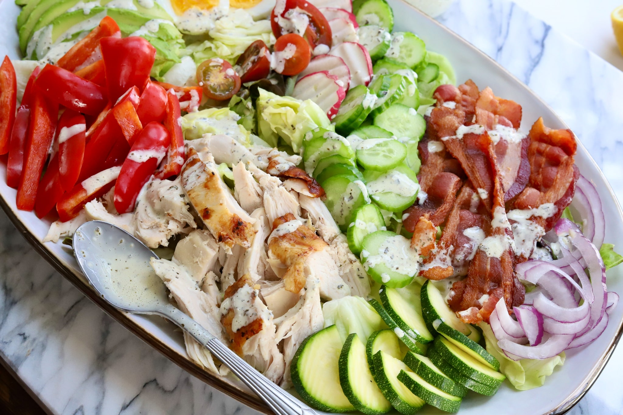 how to make italian salad