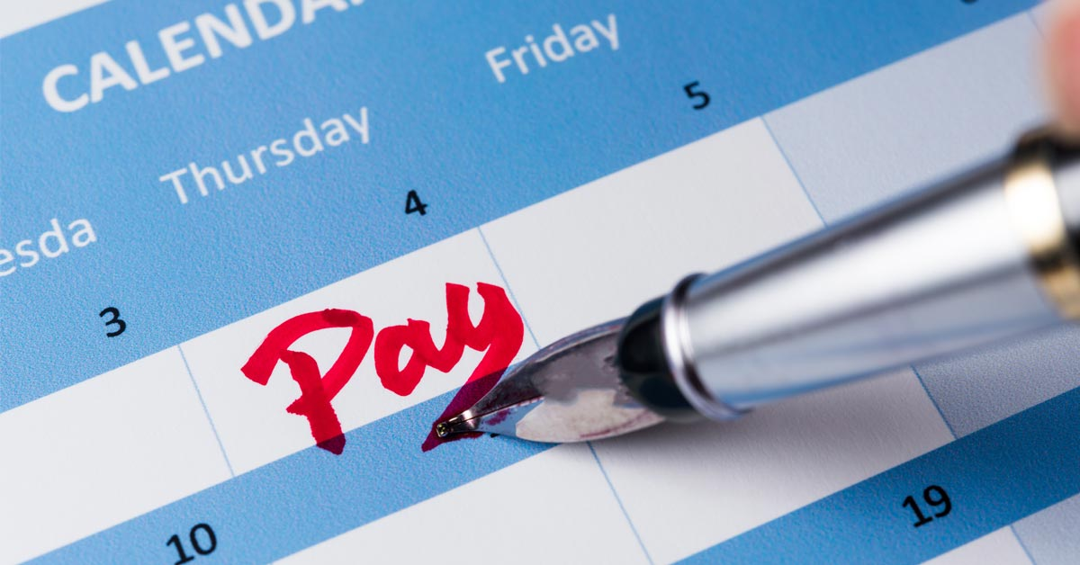 Payment scheduling for small business banking