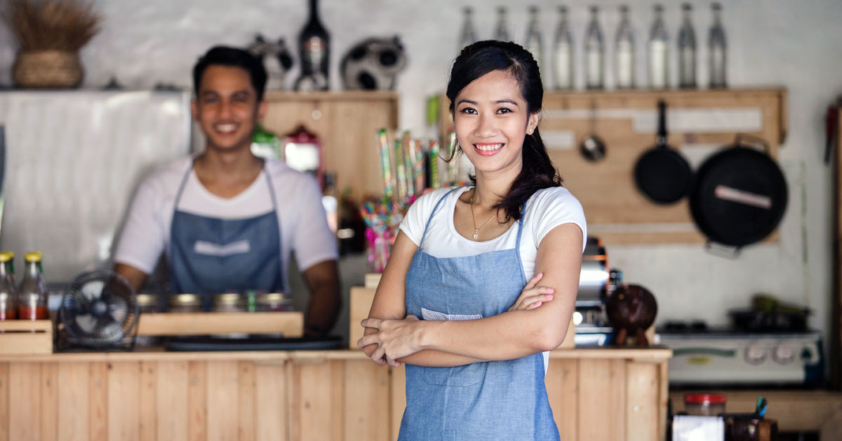 A person who does small business banking