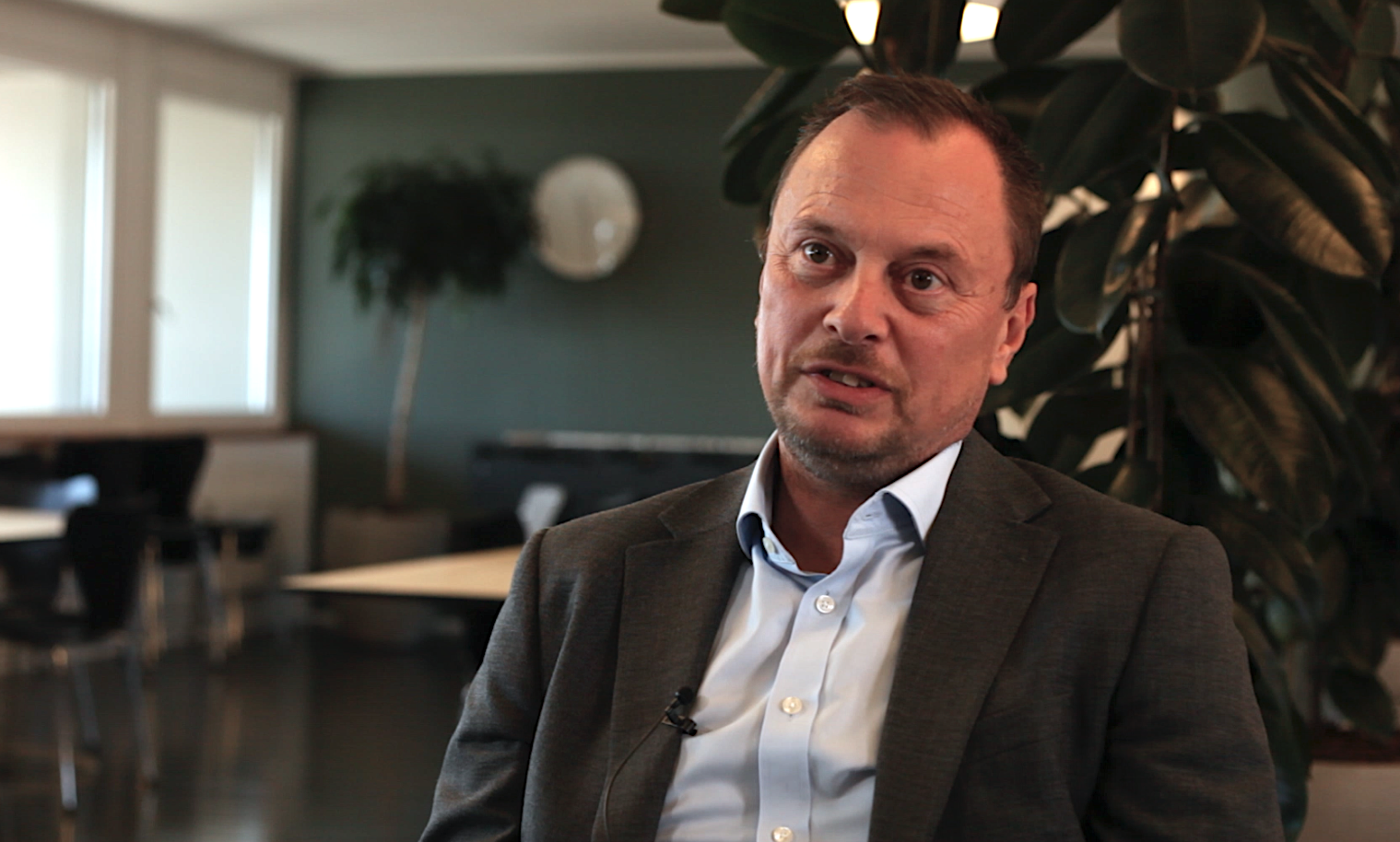 Thomas Ulrik, Gangsted, fortæller om, hvordan de bruger Estaid