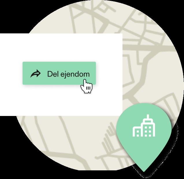 Del ejendomme med kollegaer eller klienter