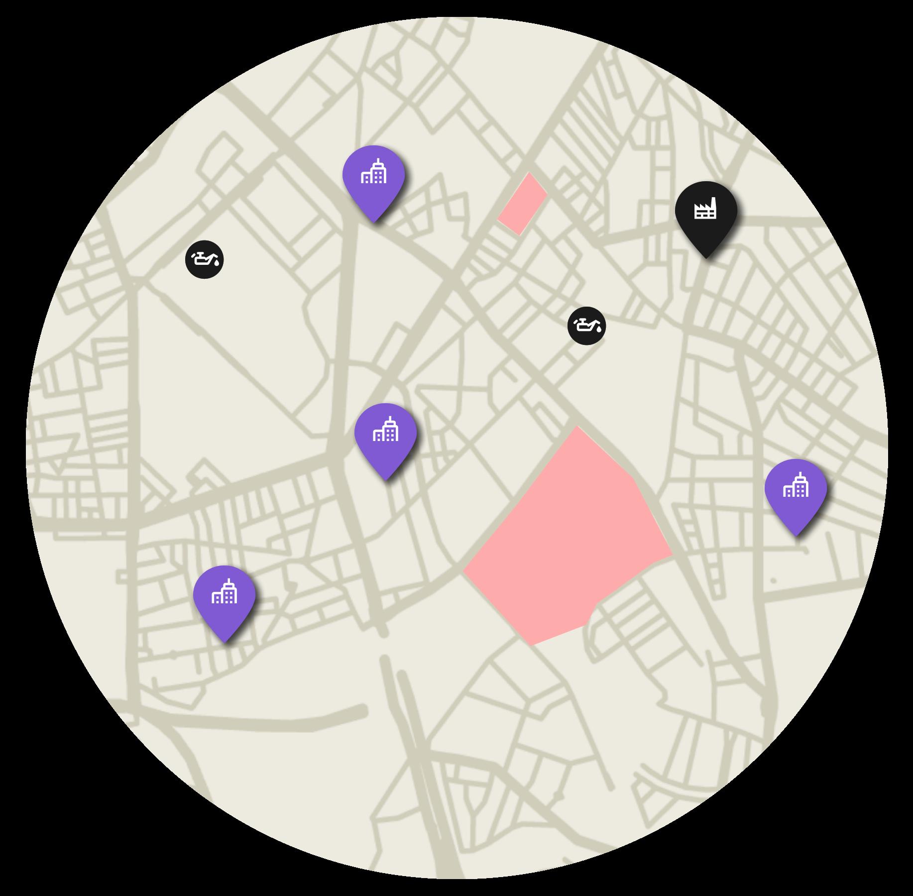 Undersøg området ved en ejendom inden du investerer