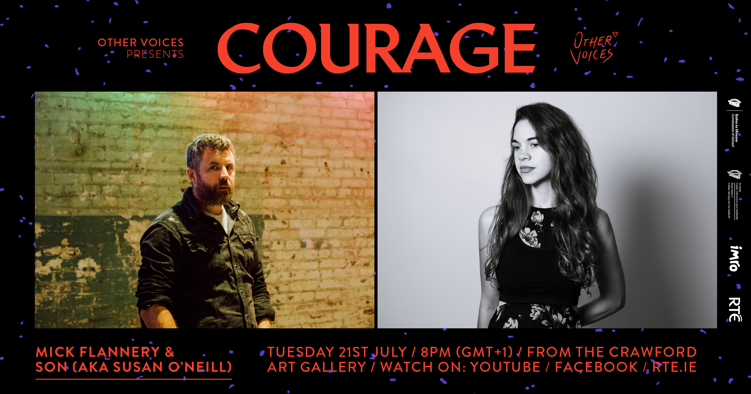 Courage: Mick Flannery & SON (Susan O'Neill)