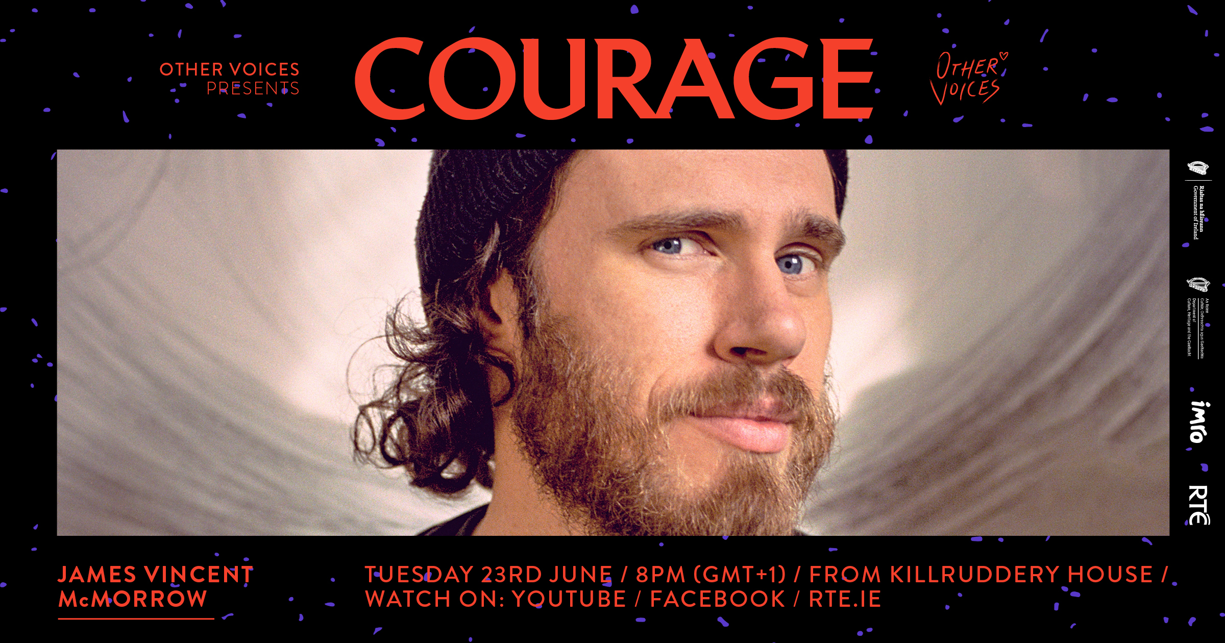 Courage: James Vincent McMorrow & Maija Sofia
