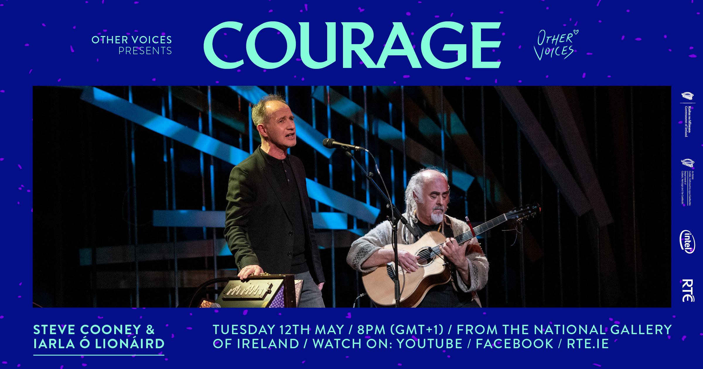 Courage: Iarla Ó Lionáird and Steve Cooney