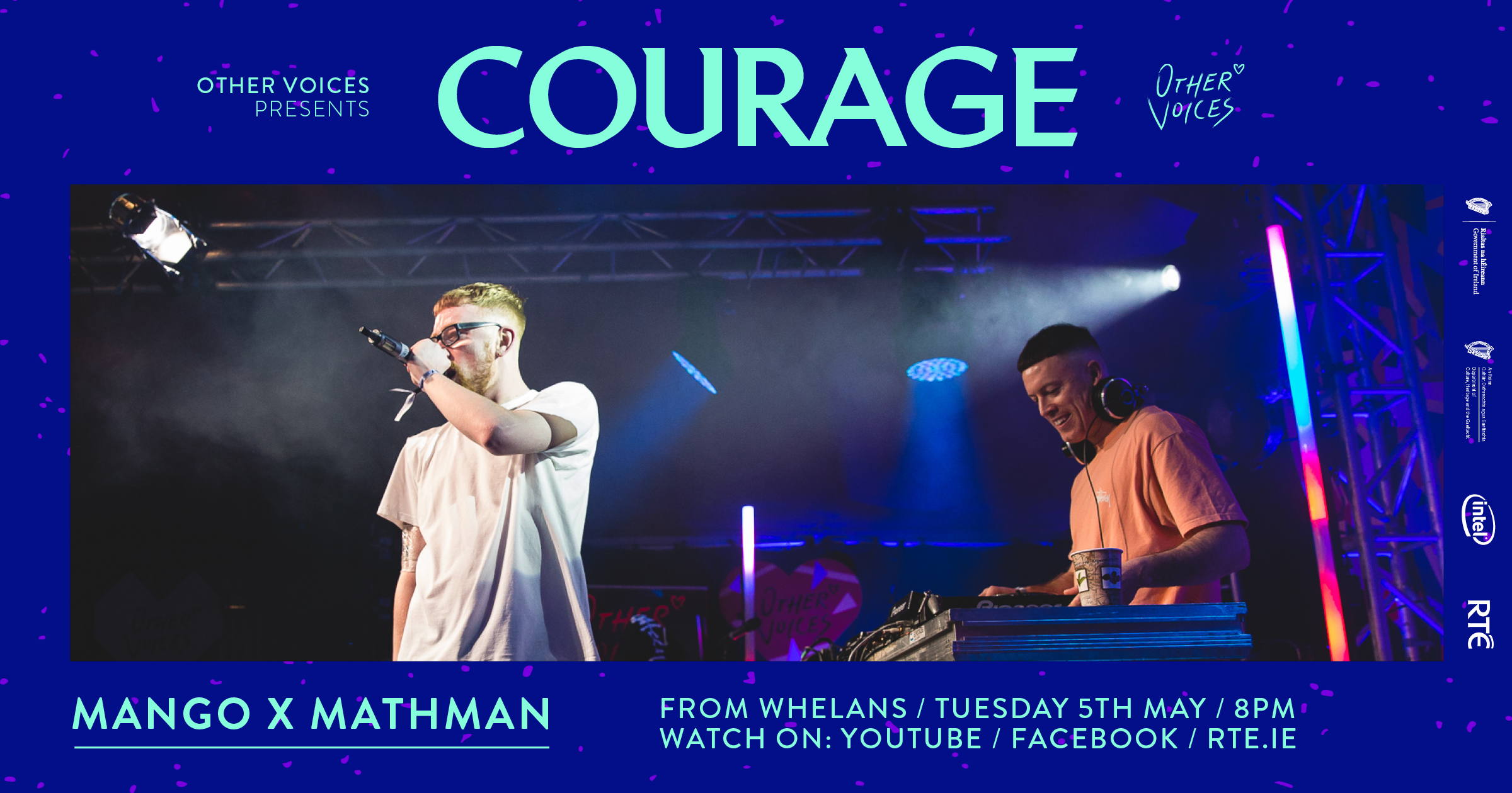 Courage: Mango x Mathman