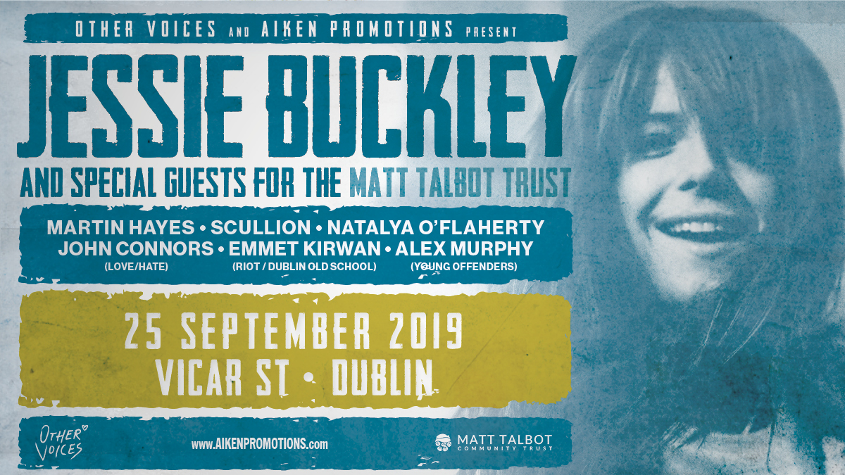 Jessie Buckley and Special Guests for the Matt Talbot Trust