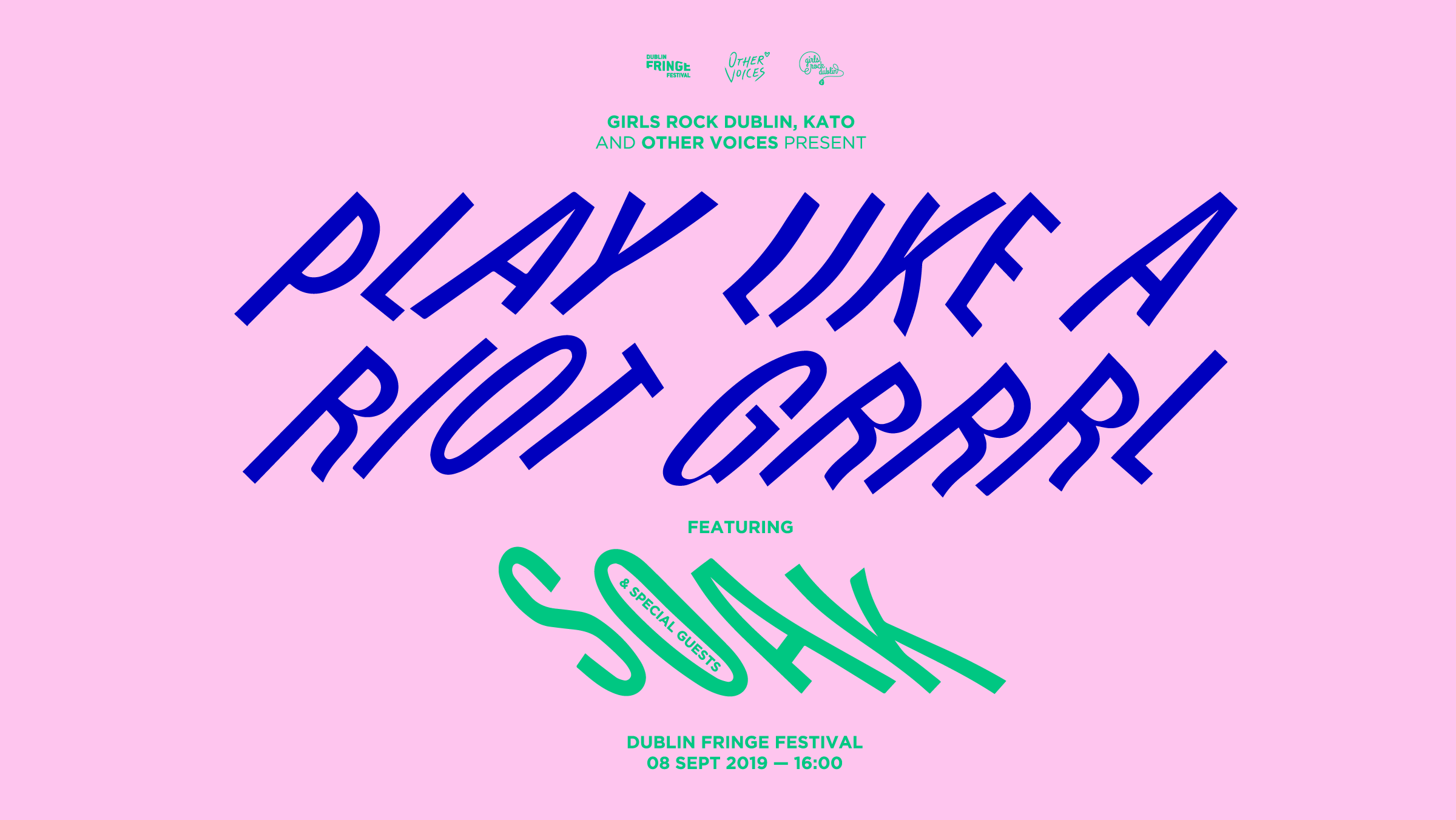Play Like A Riot Grrrl featuring SOAK