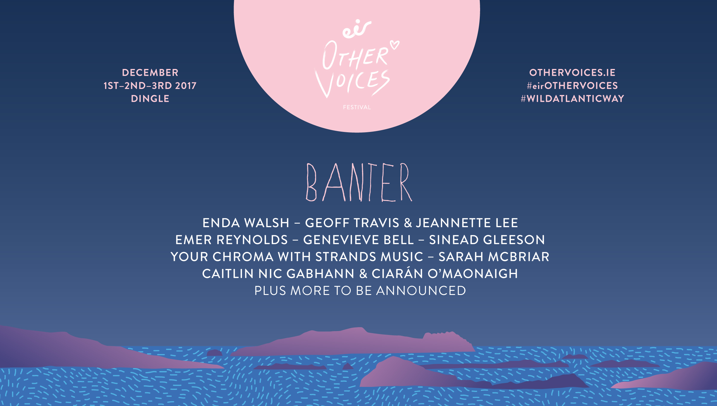 Banter at eir Other Voices 2017
