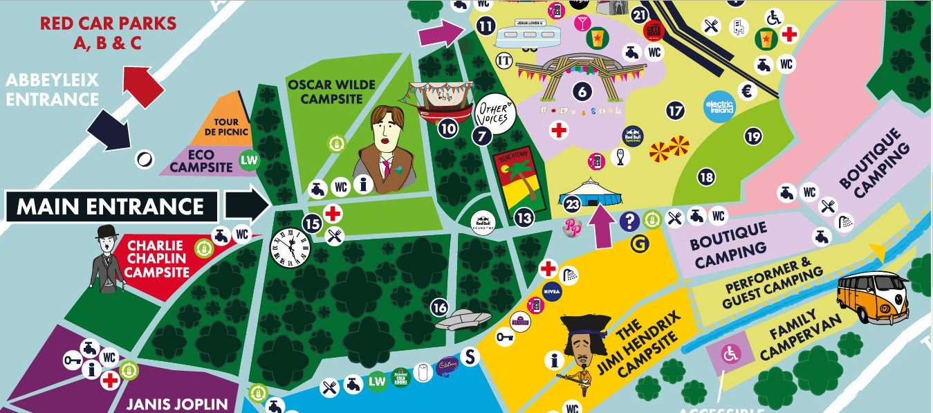 Where to find us at Electric Picnic