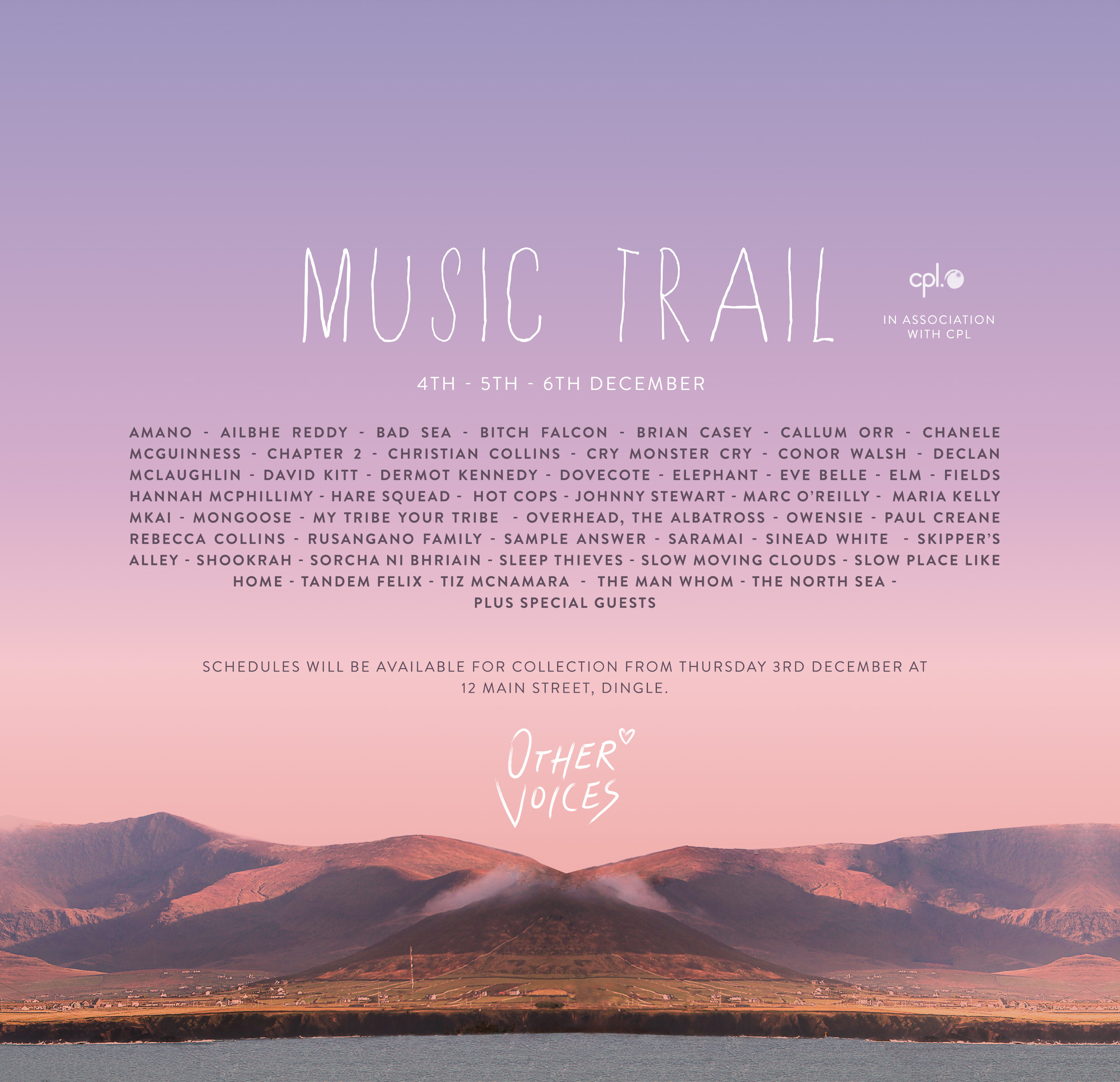MUSIC TRAIL LINE UP ANNOUNCED + WIN 2 X SAT TICKETS