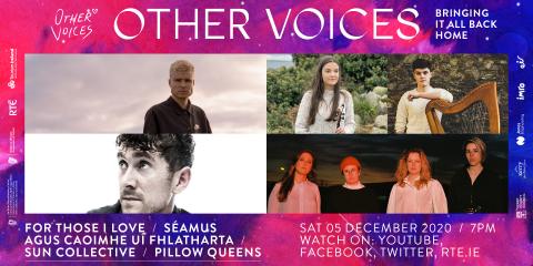 Sat 5 Dec   For Those I Love, Pillow Queens, Séamus agus Caoimhe Uí Fhlatharta + Sun Collective